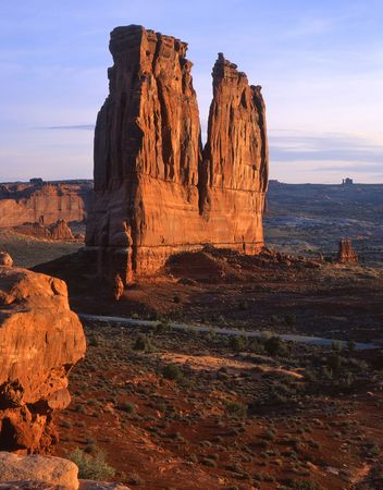The Organ in Arches National Park, Utah. Stock Photo - 755016