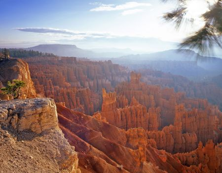 Sunrise at Bryce Canuon National Park, Utah. Stock Photo - 754998