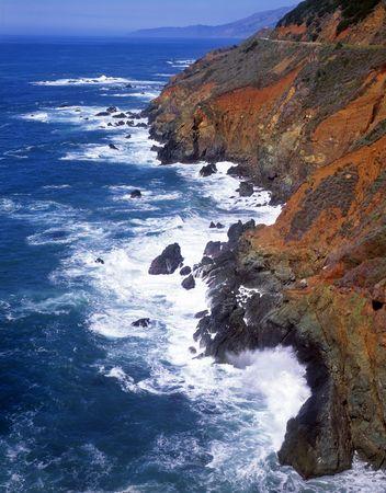 The Big Sur coastline in California. Stock Photo - 760725