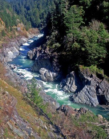 The Klamath River in northern California. Stock Photo - 767084