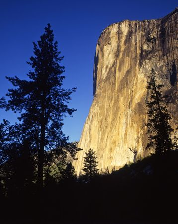 el capitan: El Capitan in Yosemite National Park, California.