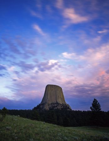 Devils Tower National Monument, located in Wyoming.