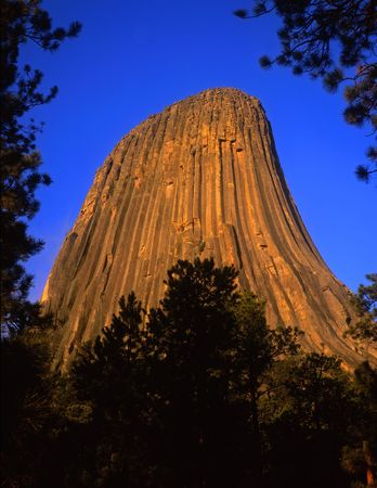 encounters: Devils Tower National Monument, located in Wyoming.