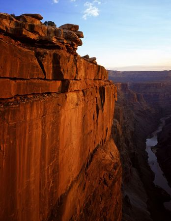 The Toroweap View of the Grand Canyon in Grand Canyon National Park, Arizona. Stock Photo - 814675