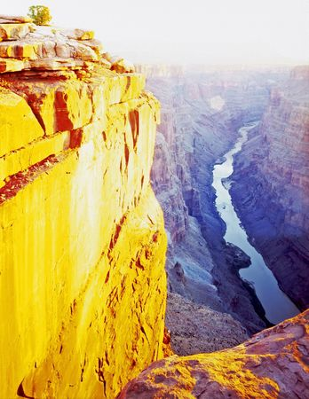 toroweap: An abstract image of the Toroweap View of the Grand Canyon in Grand Canyon National Park, Arizona.