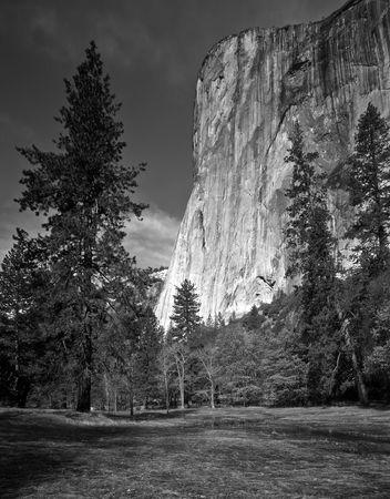 The El Capitan formation in Yosemite National Park, California. Stock Photo - 814688