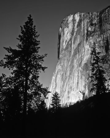 The El Capitan formation in Yosemite National Park, California. Stock Photo - 814690