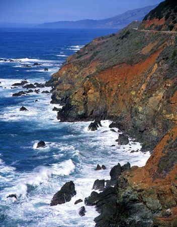 The Big Sur coastline, California. Stock Photo - 818531