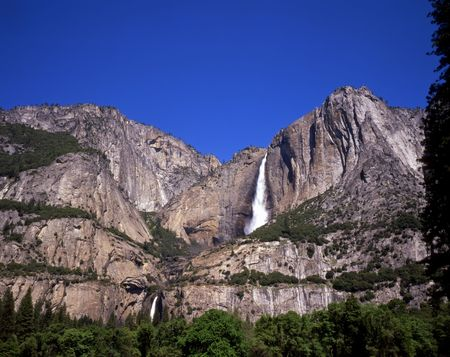 Yosemite Falls located in Yosemite National Park, California. Stock Photo - 1200814