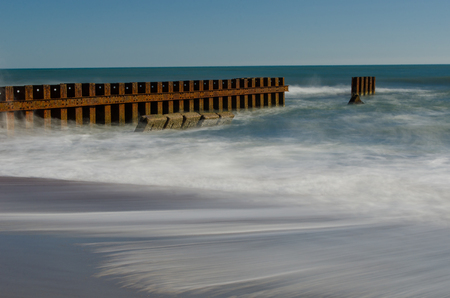 Beach in Buxton, on The Outer Banks of North Carolina Stock Photo - 104732582
