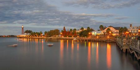 The Villages, Florida at Dusk