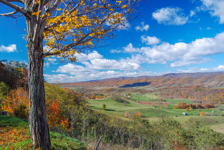 Valley in Mountains of Virginia