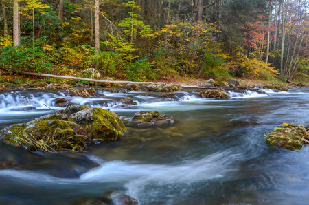 Flowing Stream, Highland County, Virginia Stock Photo - 106960887
