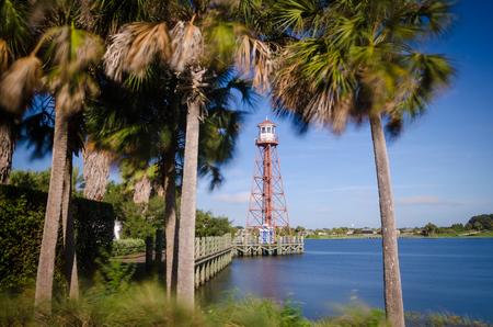Lake Sumter Lighthouse Stock Photo
