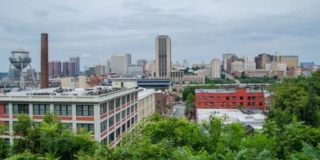 Downtown Richmond, Virginia skyline from Church Hill Editorial