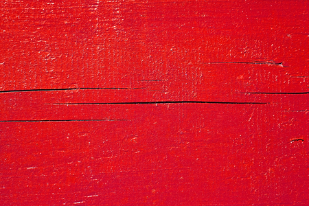 Red Painted Wood. Wooden board texture