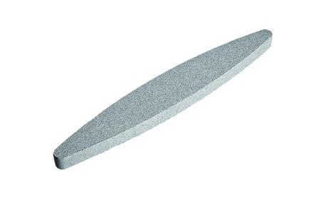 Sharpening stone. Grindstone or whetstone sharpener, isolated on white background. Kitchen utensils Reklamní fotografie