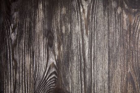 Wood texture, natural wooden brown background, pattern on surface. Empty painted boards Stock Photo