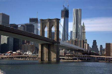 New York - Brooklyn bridge photo