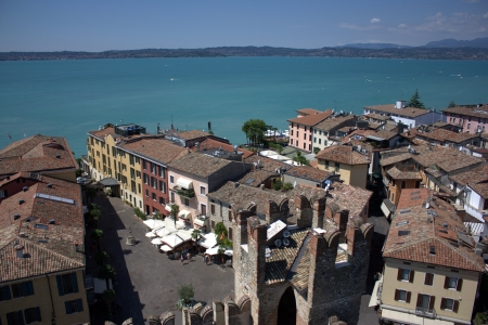 sirmione: Sirmione from the above