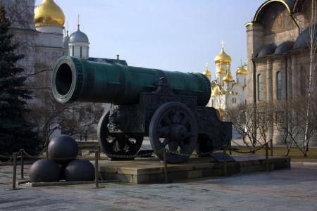 tsar: Tsar Cannon, inside the Kremlin wall