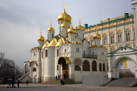 annunciation: Cathedral of the Annunciation in the Moscow Kremlin