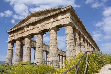doric: Segesta - Doric temple