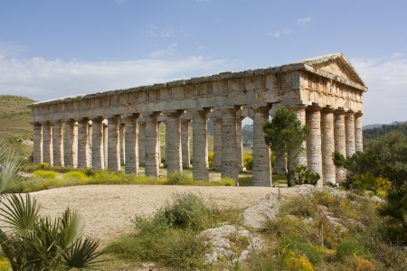 Segesta and its temple photo