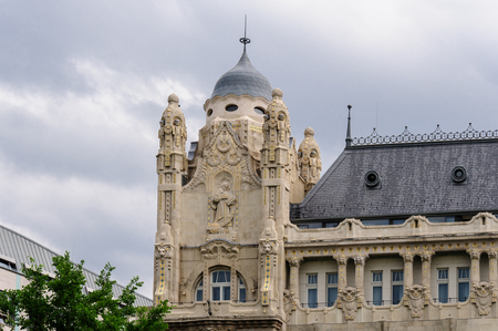 closer: Closer look at the Gresham palace tower restored details
