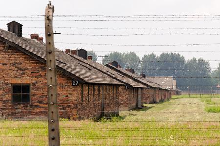 barracks: Auschwitz II - Birkenau, barracks Blocks 27, 21, 15, 9 and 3 of Sector I Editorial
