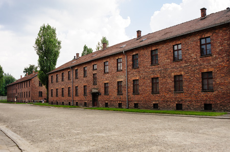 the nazis: Auschwitz I - Birkenau Block 17 used for the mens barracks have exhibits devoted to the various nations that were victimized by the Nazis.
