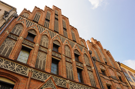 stare miasto: TORUN, POLAND - JULY 7, 2009: Tenement house where allegedly Nicolaus Copernicus was born