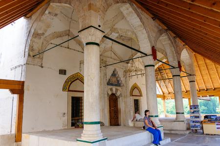 mehmed: MOSTAR, BOSNIA AND HERZEGOVINA - SEPTEMBER 1, 2009: Koski Mehmed Pasha mosque.