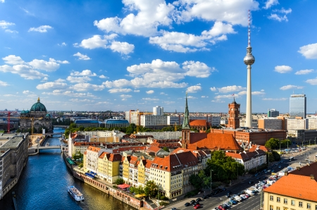 Berlin skyline panorama, Germany photo