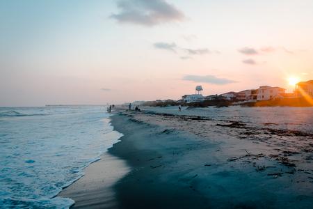 Sunset at Ocean Isle Beach