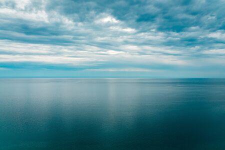 shot of Lake Michigan from Sleeping Bear Dunes National Lakeshore Stock fotó