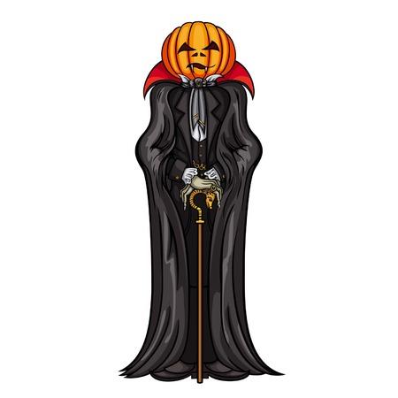 transylvania: Halloween Pumpkin Head Vampire