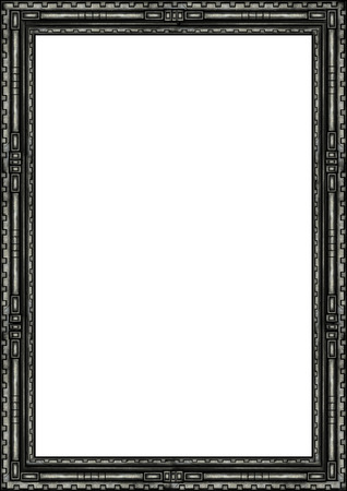 antiquities: Illustration decorative fantasy stone frame