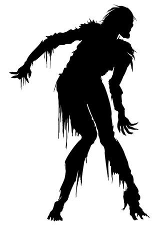 zombie ilustra