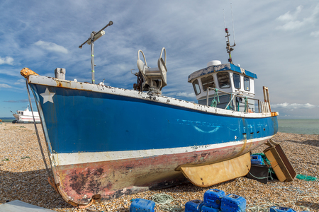 Abandoned Boat in Dungeness England