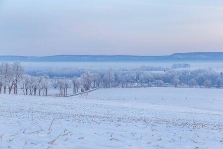 Winter Valley in Pennsylvania