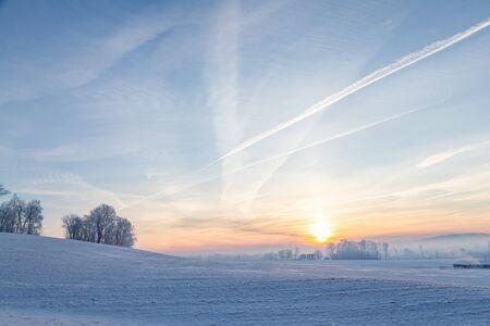 Winter Countryside in Pennsylvania