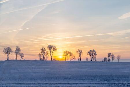 Sunrise Over Pennsylvania Fields