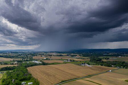 Thunderstorm Over Pennsylvania Stockfoto