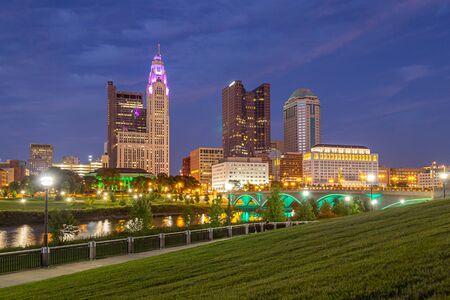 Columbus Ohio during Blue Hour