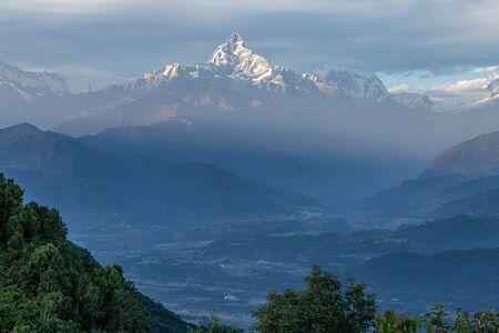 Himalaya Peak Fishtail in Pokhara Nepal