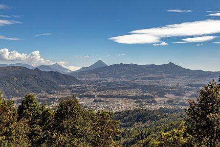 Santa Maria Volcano in Quetzaltenango in Guatemala Stockfoto