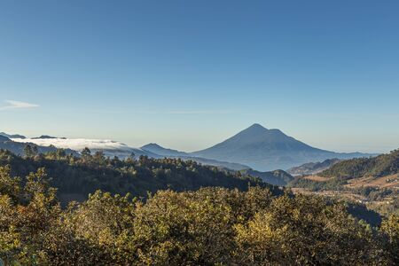 Volcan Atitlan in Guatemala