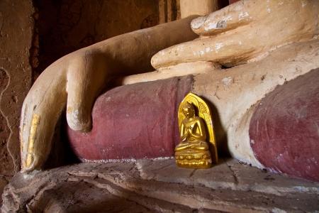 Buddha Bagan - Myanmar Standard-Bild