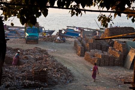 holz: Teak Holz - Mandalay